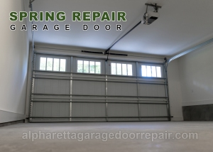 Alpharetta Garage Doors Spring Repair