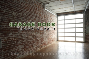 Alpharetta Garage Door Track Repair