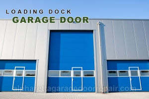 Alpharetta Loading Dock Garage Doors